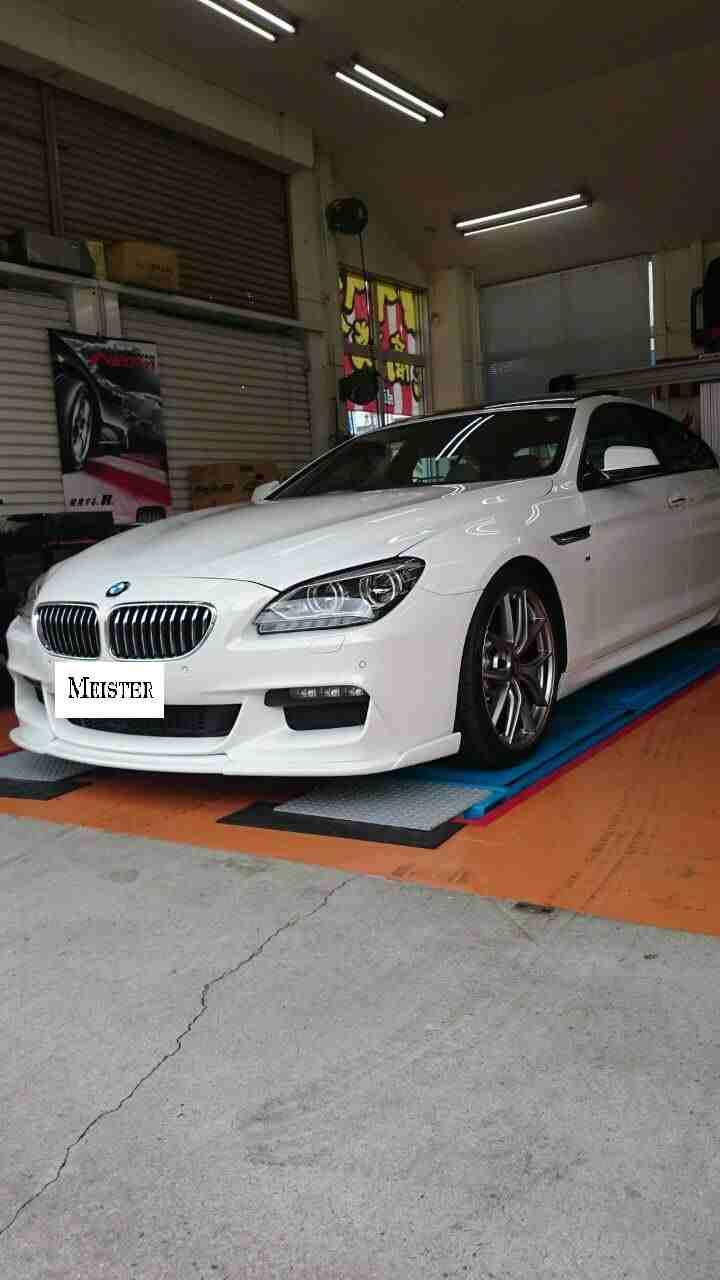 足回り交換BMW 6シリーズ