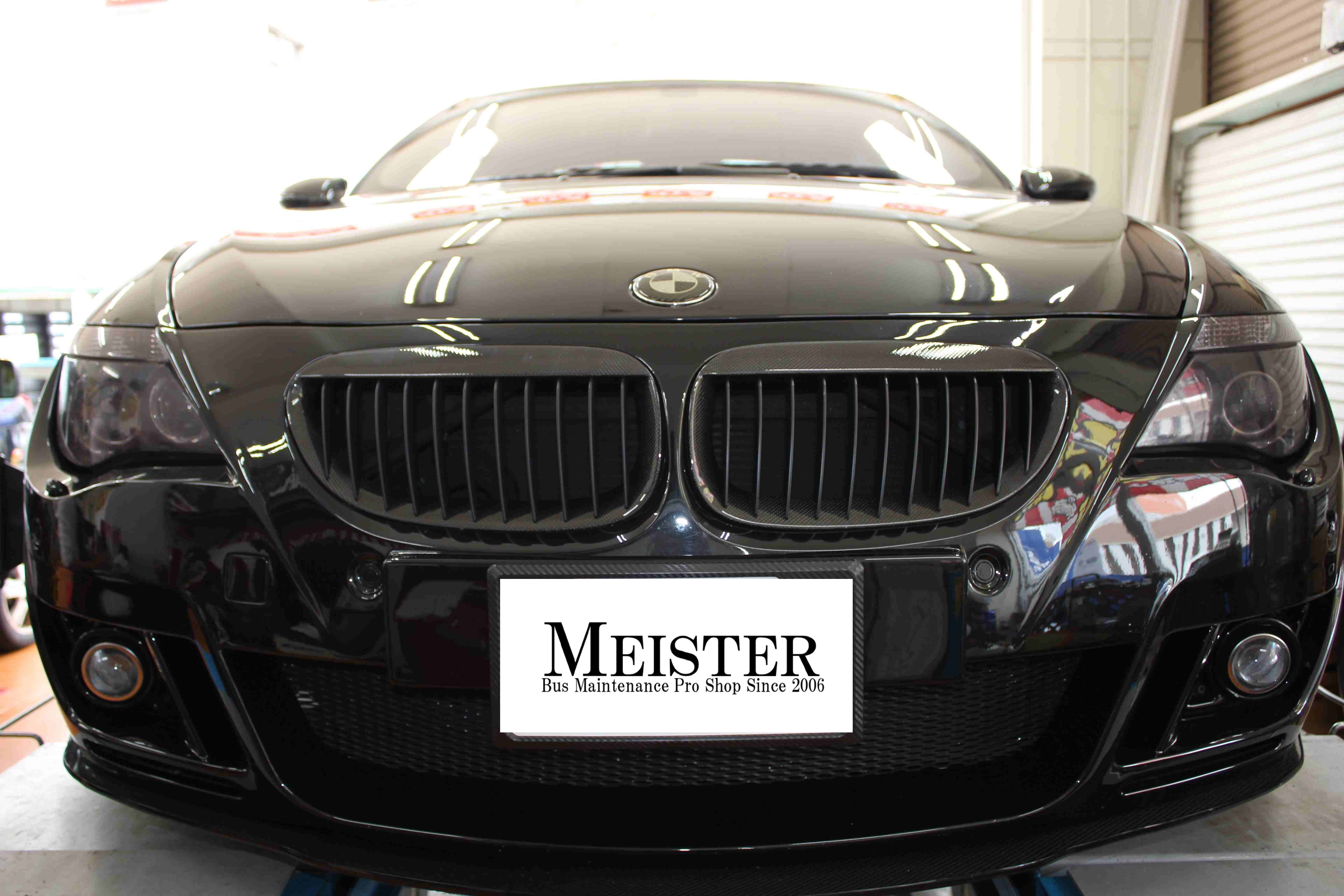 アライメント調整BMW M6